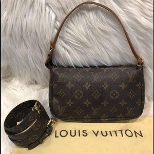 Authentic Louis Vuitton Pochette #3.6M